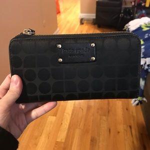 Kate Spade Zip Accordian Long Wallet (Gently Used)
